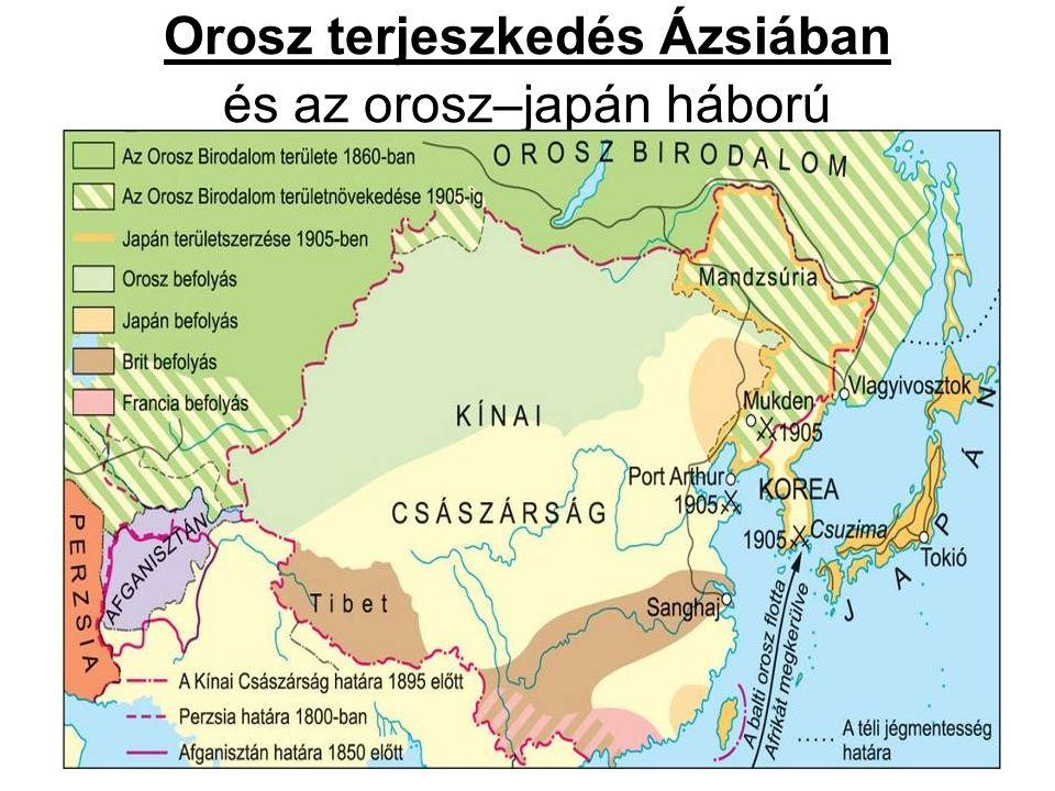 Orosz terjeszkedés Ázsiában és az orosz–japán háború