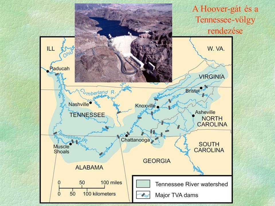 A Hoover-gát és a Tennessee-völgy rendezése