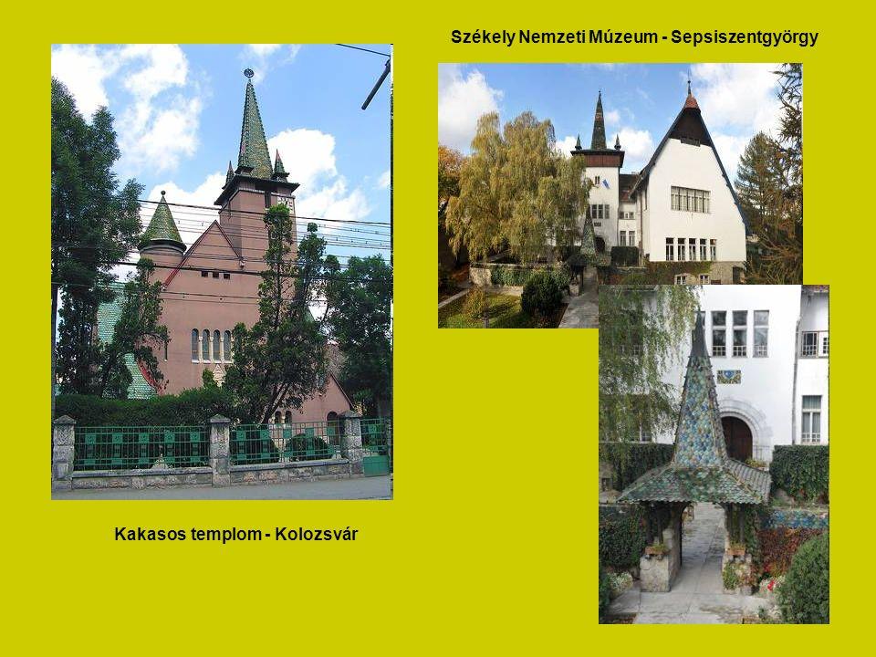 Kakasos templom - Kolozsvár Székely Nemzeti Múzeum - Sepsiszentgyörgy