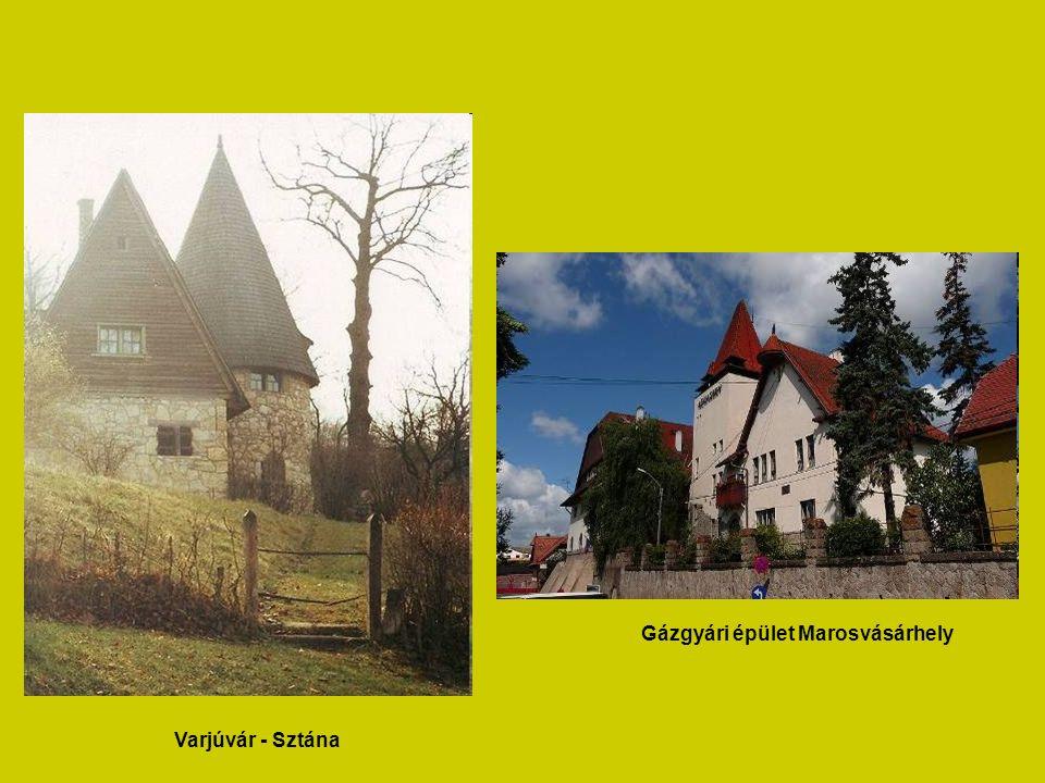 Az épületek többségének megtervezésével Neuschloss javaslatára Kós Károlyt és Zrumeczky Dezsőt bízták meg.