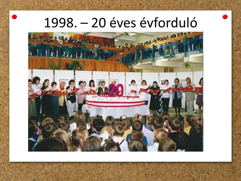 1998. – 20 éves évforduló