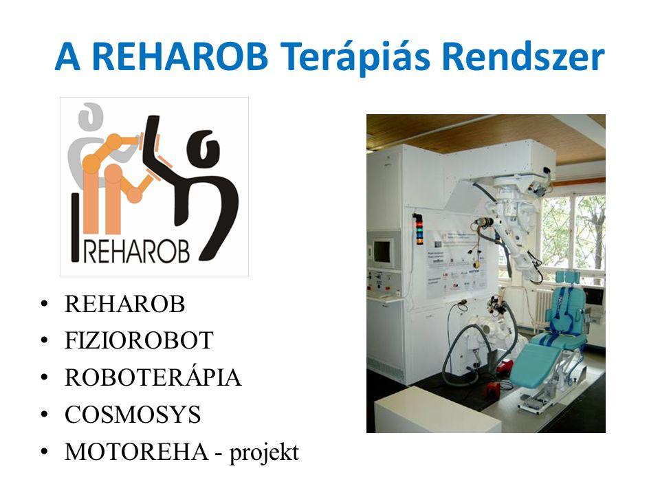 A REHAROB Terápiás Rendszer REHAROB FIZIOROBOT ROBOTERÁPIA COSMOSYS MOTOREHA - projekt