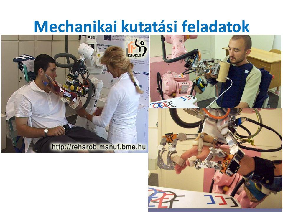 Mechanikai kutatási feladatok