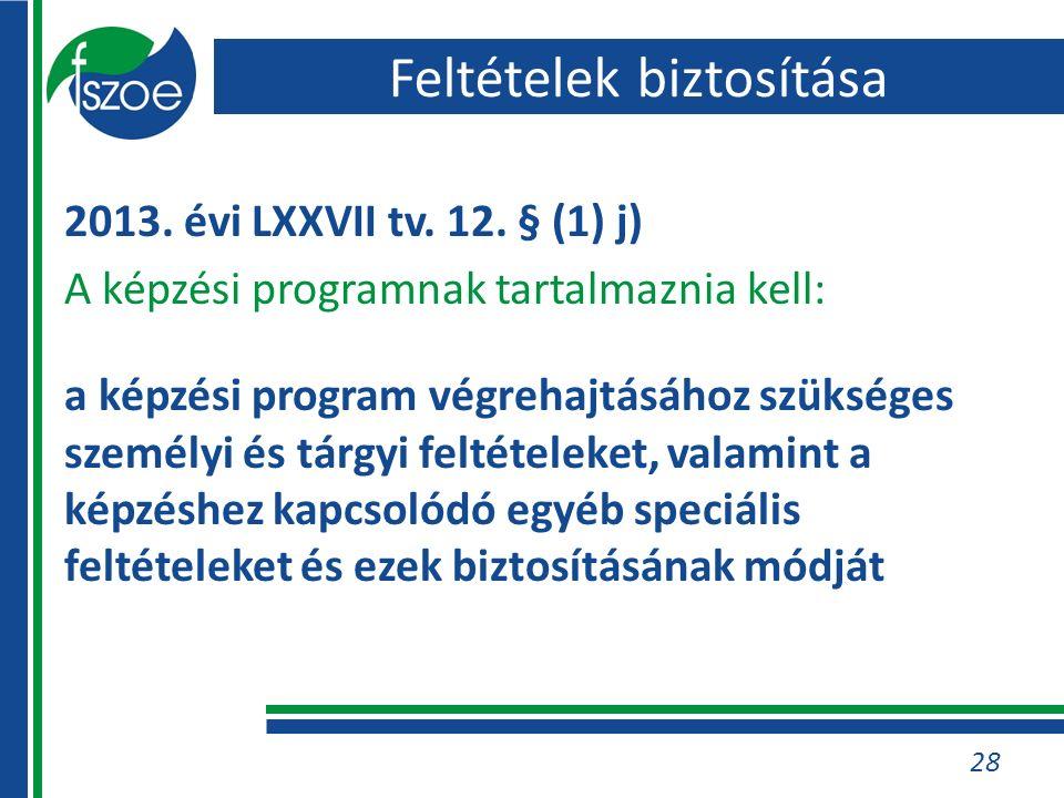 28 2013. évi LXXVII tv. 12.
