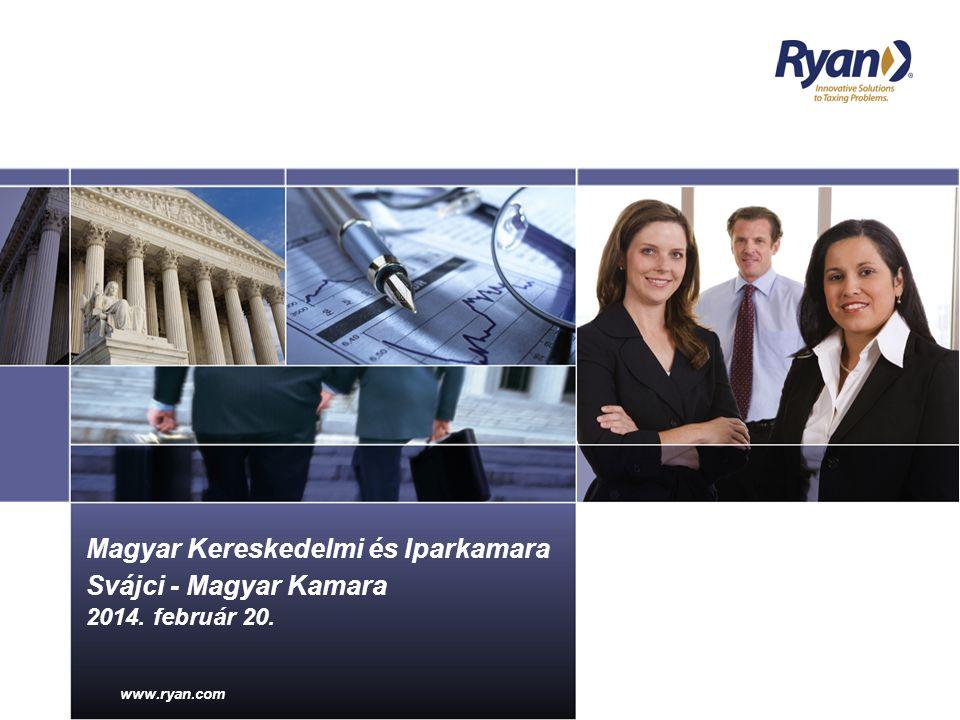 www.ryan.com 00/00/0000 Presentation Title www.ryan.com Magyar Kereskedelmi és Iparkamara Svájci - Magyar Kamara 2014.