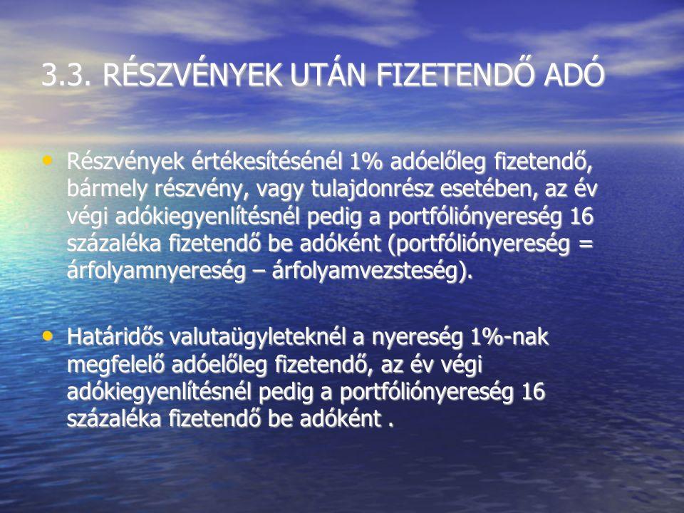 3.2. BETÉTI KAMATADÓK –1% 2005 június 4.