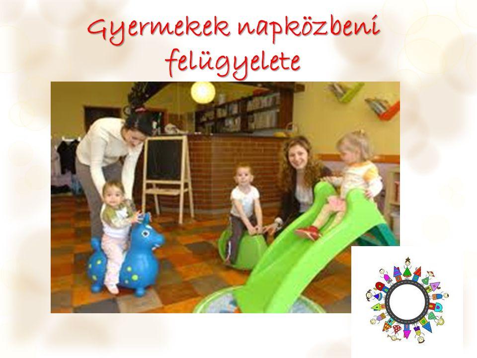 Gyermekek napközbeni felügyelete