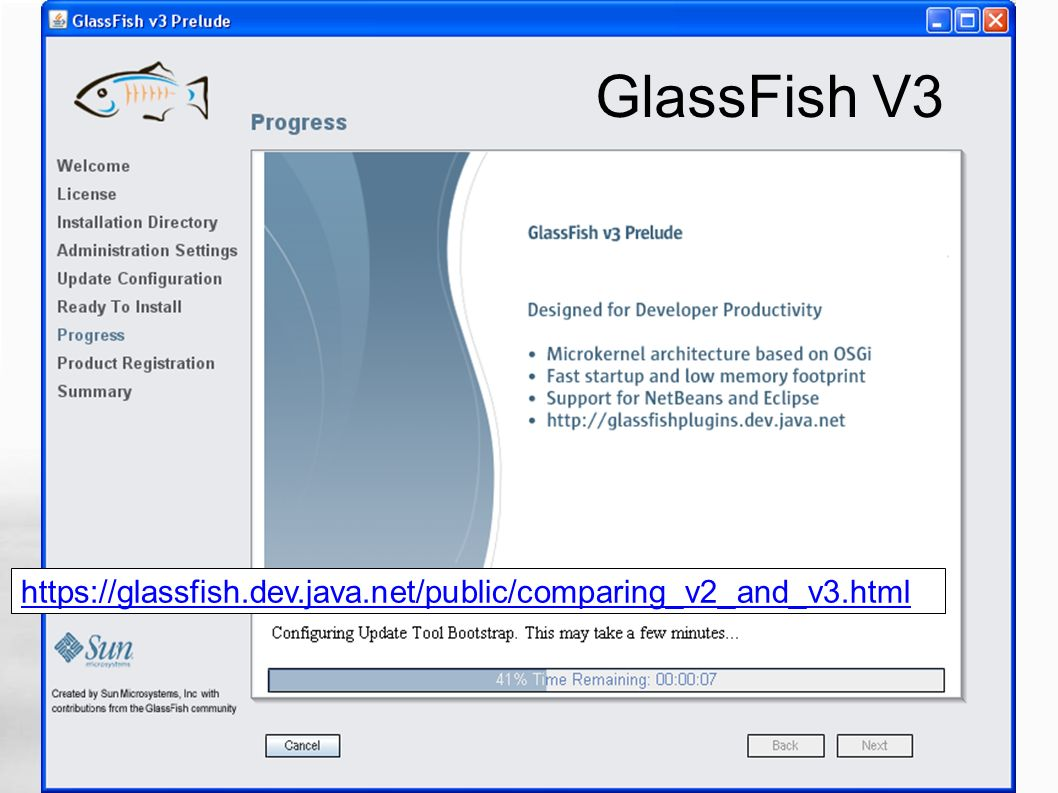 GlassFish V3 https://glassfish.dev.java.net/public/comparing_v2_and_v3.html