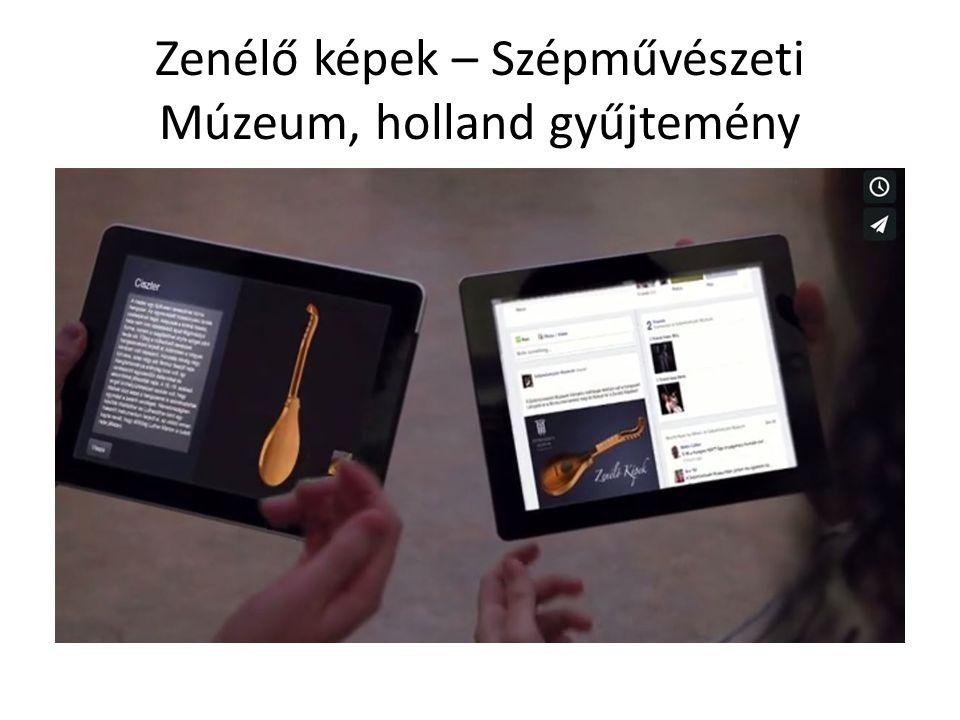 Zenélő képek – Szépművészeti Múzeum, holland gyűjtemény