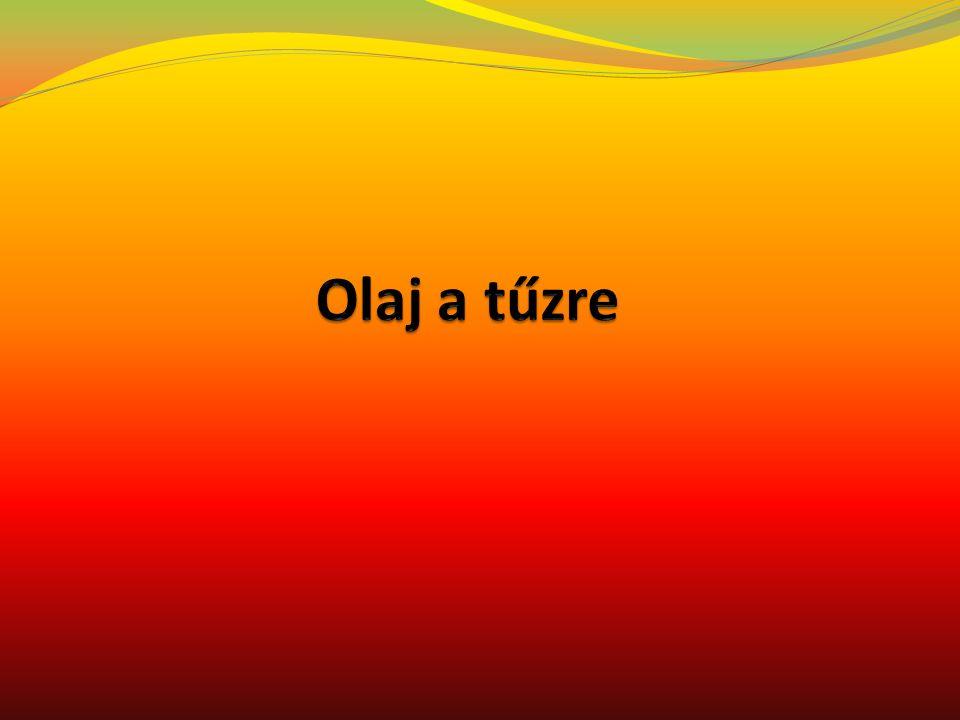 Olaj mint életünk szerves része A napraforgóolaj: a napraforgó növény magjából, hideg vagy meleg eljárással nyert növényi zsiradék Olíva olaj: Legegészségesebb táplálék az emberi szervezet számára.