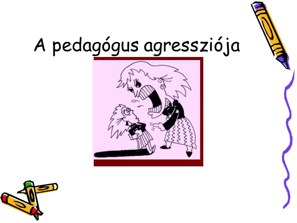 A pedagógus agressziója
