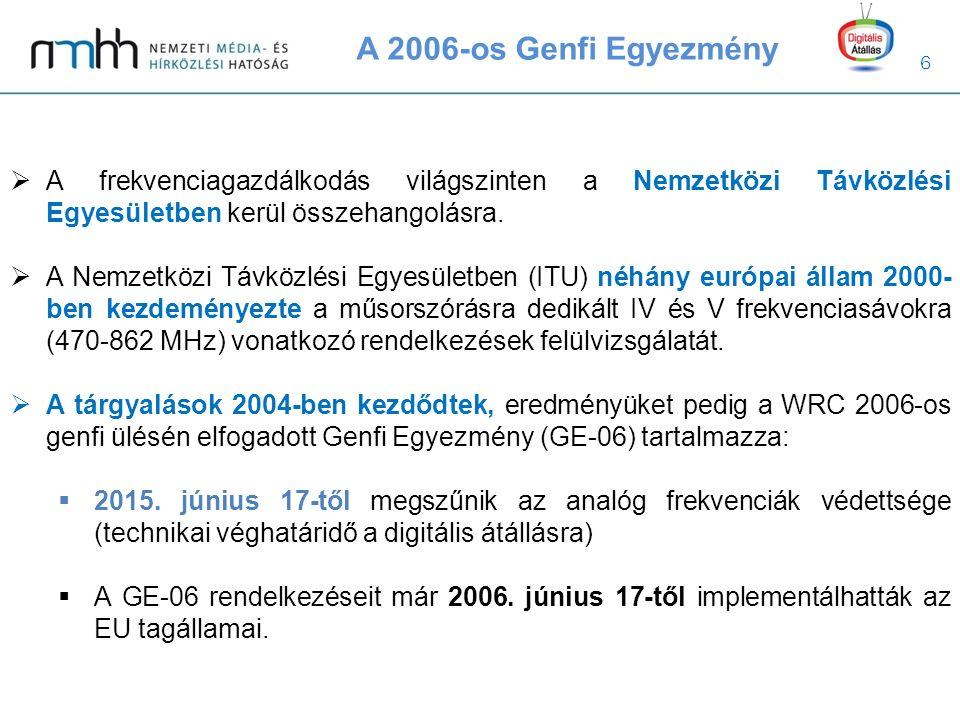 7  eEurópa 2005 Akcióterv [COM(2002)263]  A tagállamok 2003 decemberéig hozzák nyilvánosságra az analóg műsorszórás lekapcsolásának tervezett véghatáridejét.