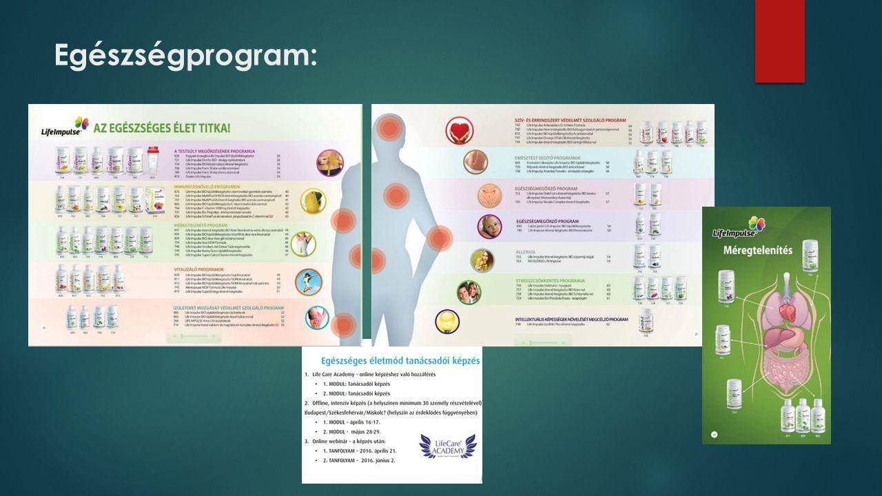 Egészségprogram: