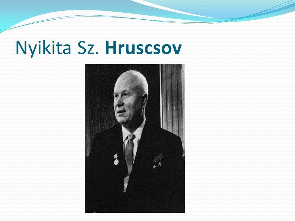 Nyikita Sz. Hruscsov