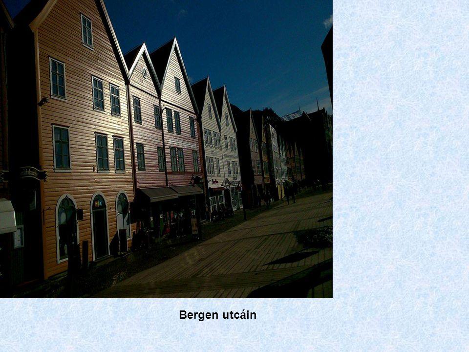 Bergen utcáin