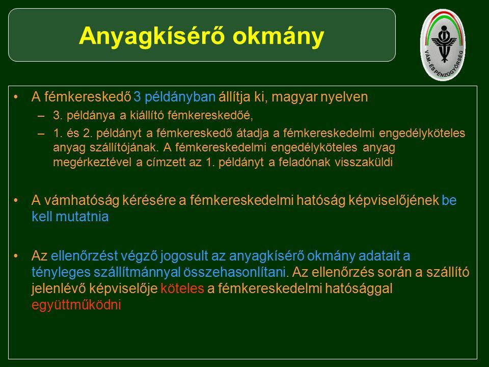 A fémkereskedő 3 példányban állítja ki, magyar nyelven –3.
