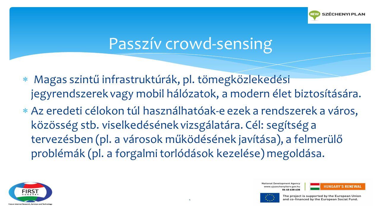  Magas szintű infrastruktúrák, pl.