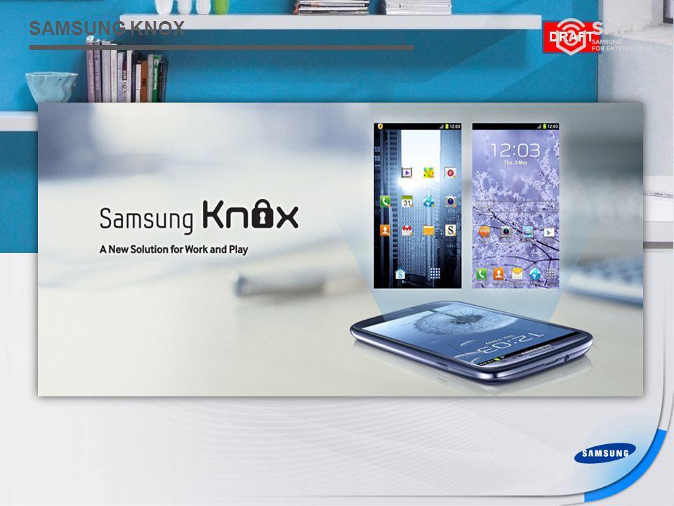 Samsung Confidential DRAFT SAMSUNG KNOX