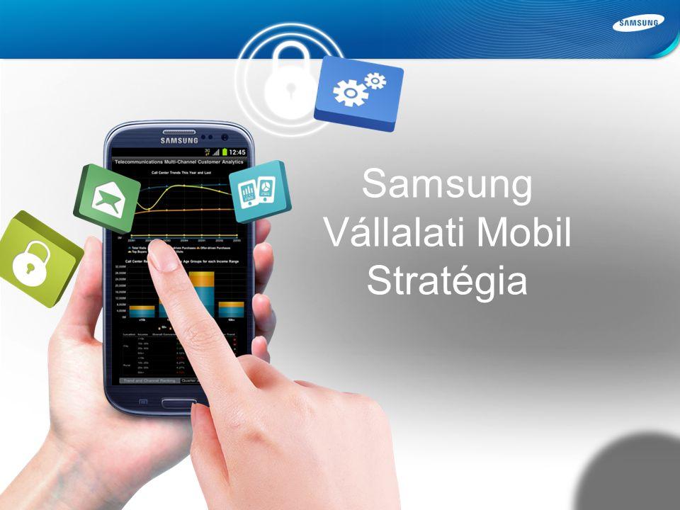 Samsung Confidential Samsung Vállalati Mobil Stratégia
