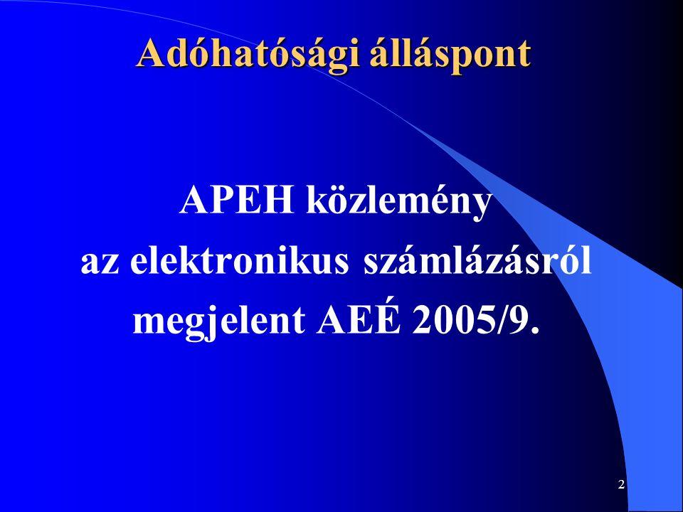 3 Adóhatósági álláspont Az Sztv.167.