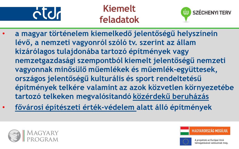 a magyar történelem kiemelkedő jelentőségű helyszínein lévő, a nemzeti vagyonról szóló tv.