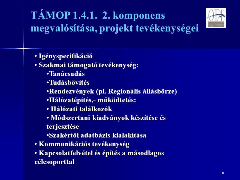 8 TÁMOP 1.4.1. 2.