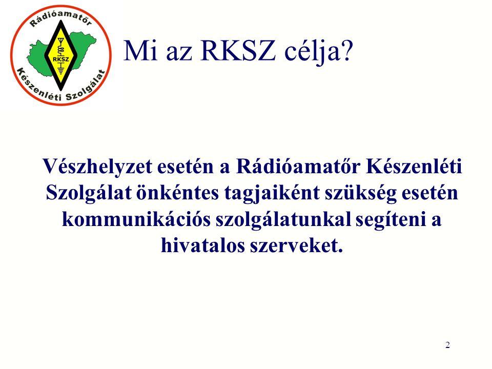Mi az RKSZ célja.