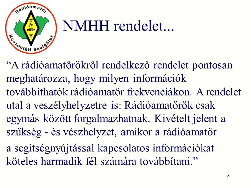 NMHH rendelet...