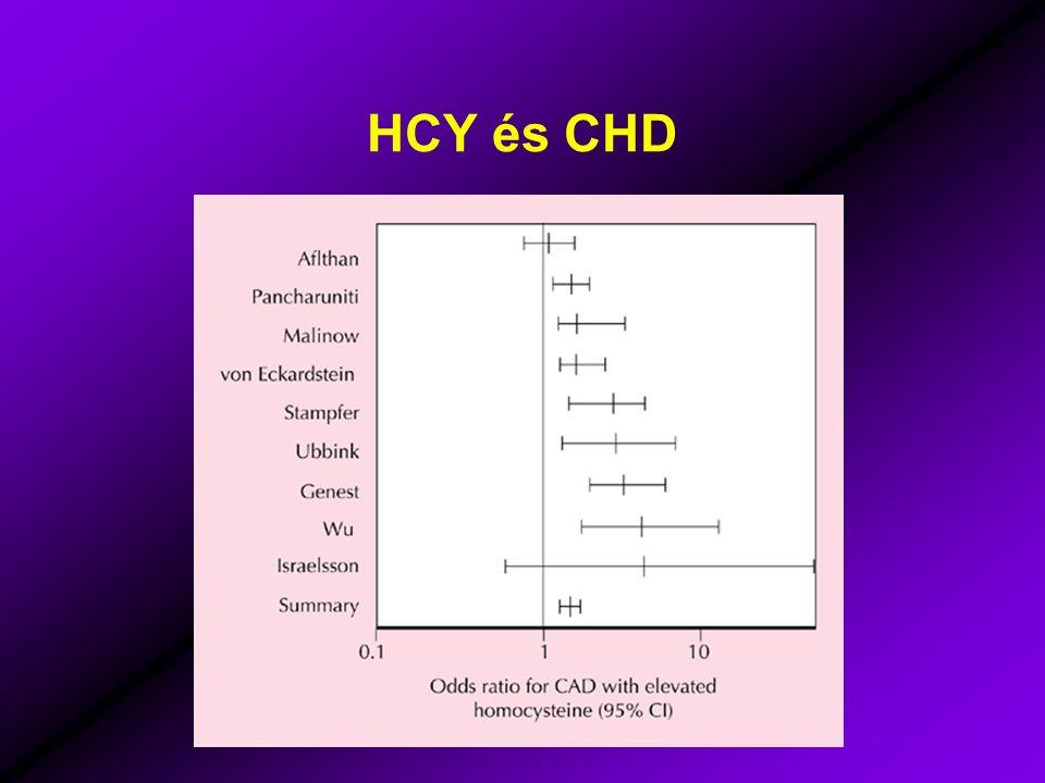 HCY és CHD