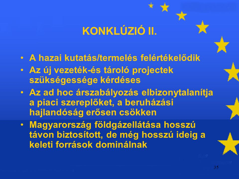35 KONKLÚZIÓ II.