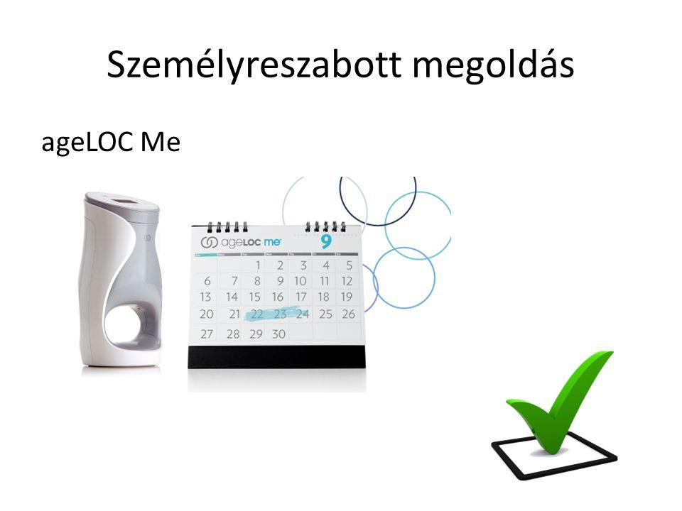 Személyreszabott megoldás ageLOC Me