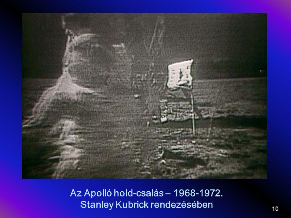 Az Apolló hold-csalás – 1968-1972. Stanley Kubrick rendezésében 10