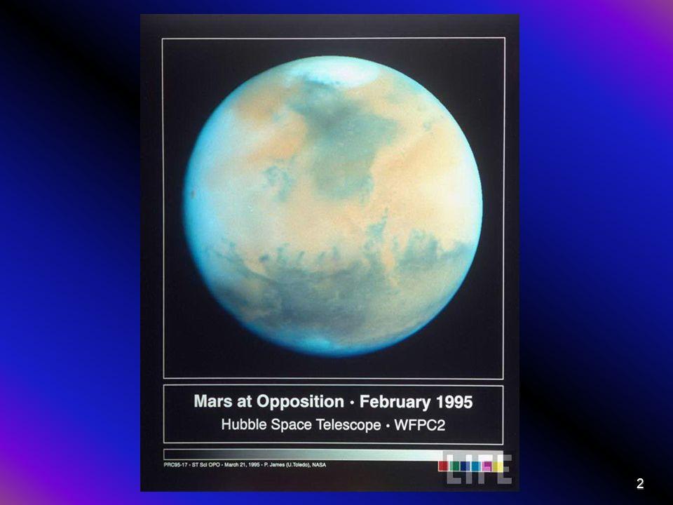 A Mars fontosabb adatai Naptávol: 249 228 730 km 1,665 991 16 CsE Napközel: 206 644 545 km 1,381 333 46 CsE Keringési idő: 686,9600 nap (1,8808 év) Tengelyforgási idő: 1,025 957 nap (24,622 962 óra) Egyenlítői sugár: 3402,5 km (a földi 0,533-szerese) Felszín területe: 1,448·108 km2 (a földi 0,284-szerese) Átlagos sűrűség: 3,934 g/cm3 Szökési sebesség: 5,027 km/s Tengelyferdeség: 25,19° Felszíni hőmérséklet: min: -140 Celsius max: +27 Celsius Holdak száma: 2 3