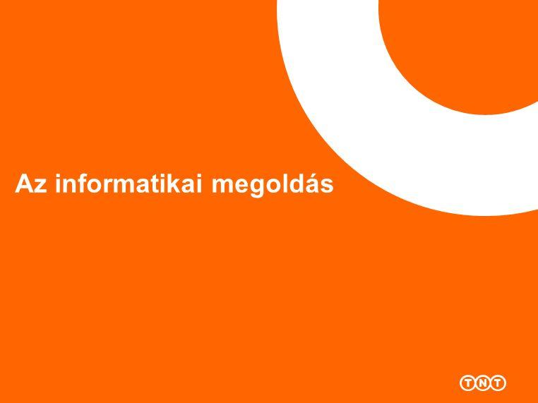 Az informatikai megoldás