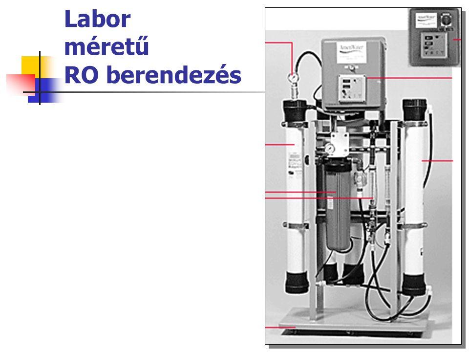 Labor méretű RO berendezés
