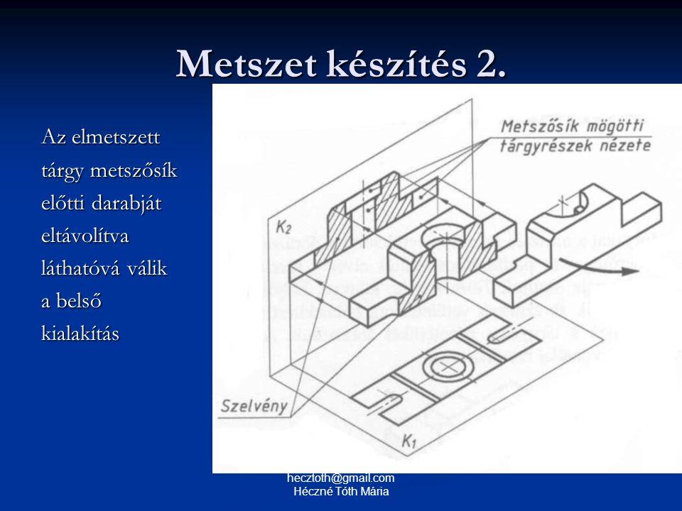 Metszet készítés 2.
