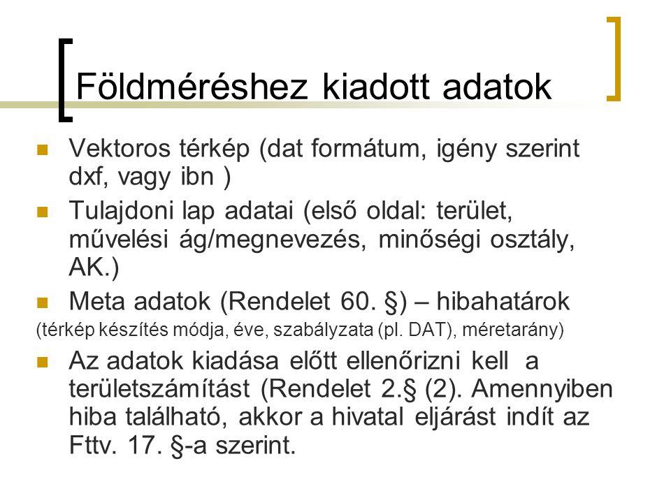 Záradékolás A záradékolásra leadott munkarészek vizsgálata alábbi rendeletek alapján történik: 25/2013.