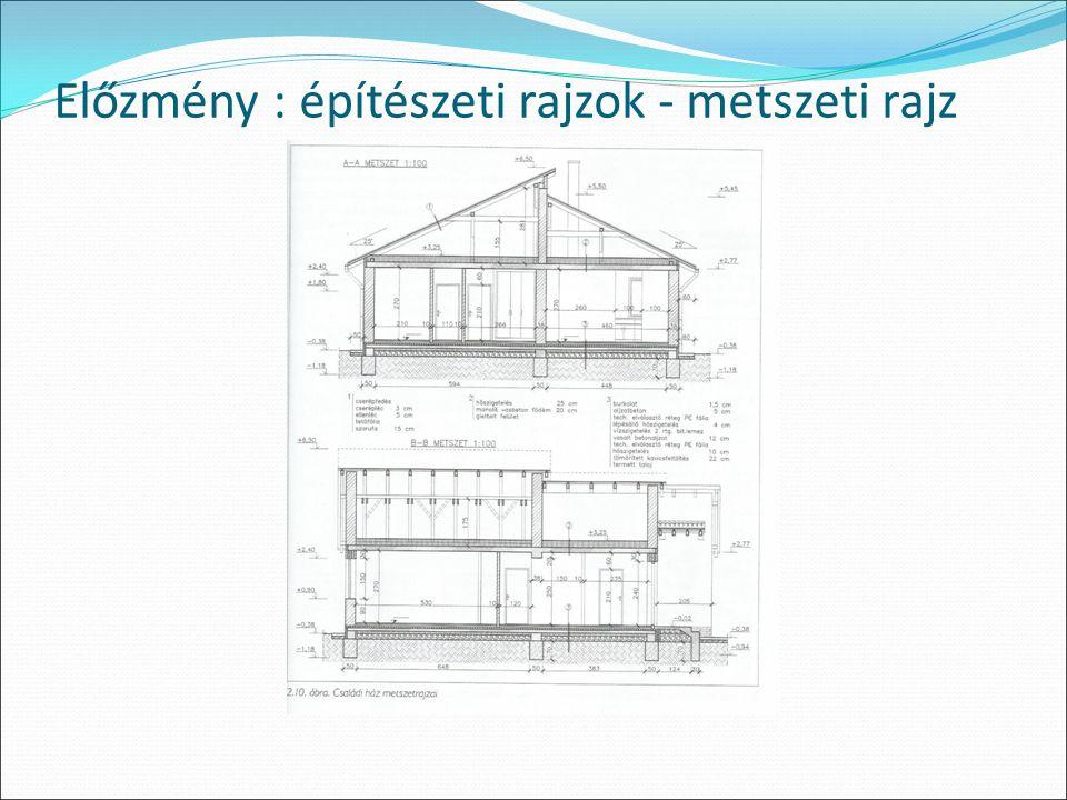 Előzmény : építészeti rajzok - metszeti rajz