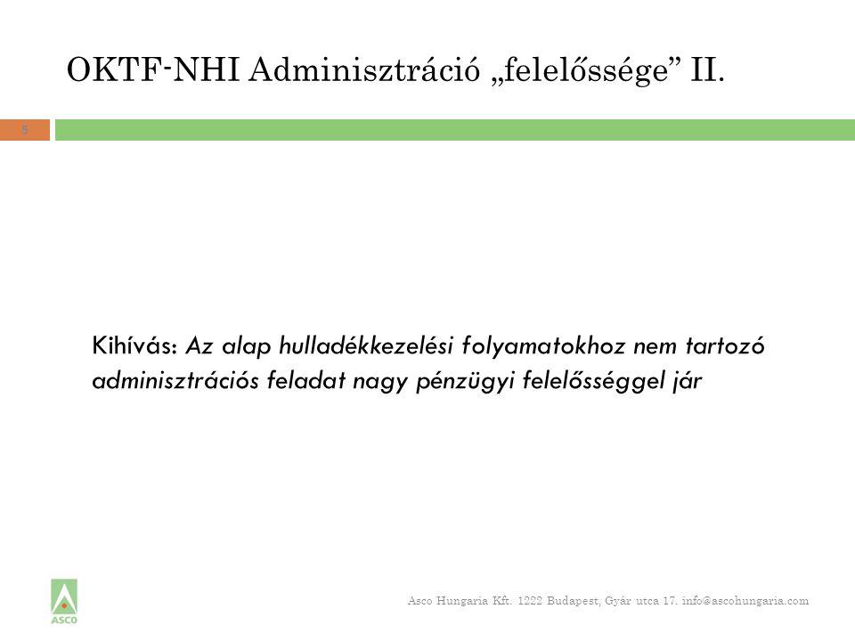 """OKTF-NHI Adminisztráció """"felelőssége II."""