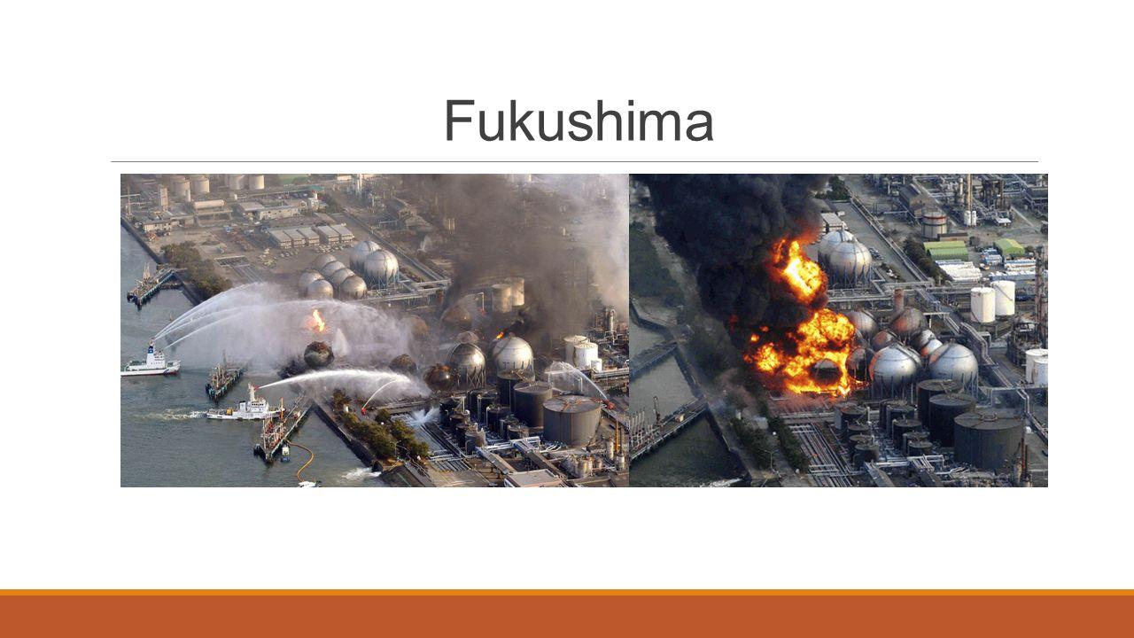 A katasztrófa : 2011.Március 11.-én 14 óra 46 perckor földrengések rázták meg Fukushimát.