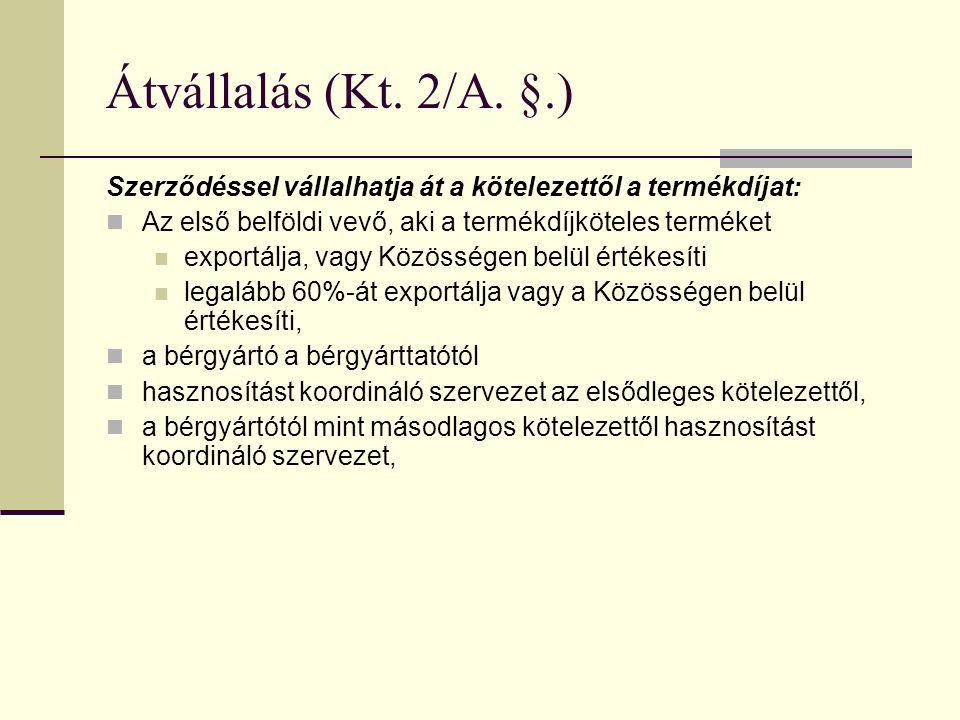 Átvállalás (Kt.2/A.