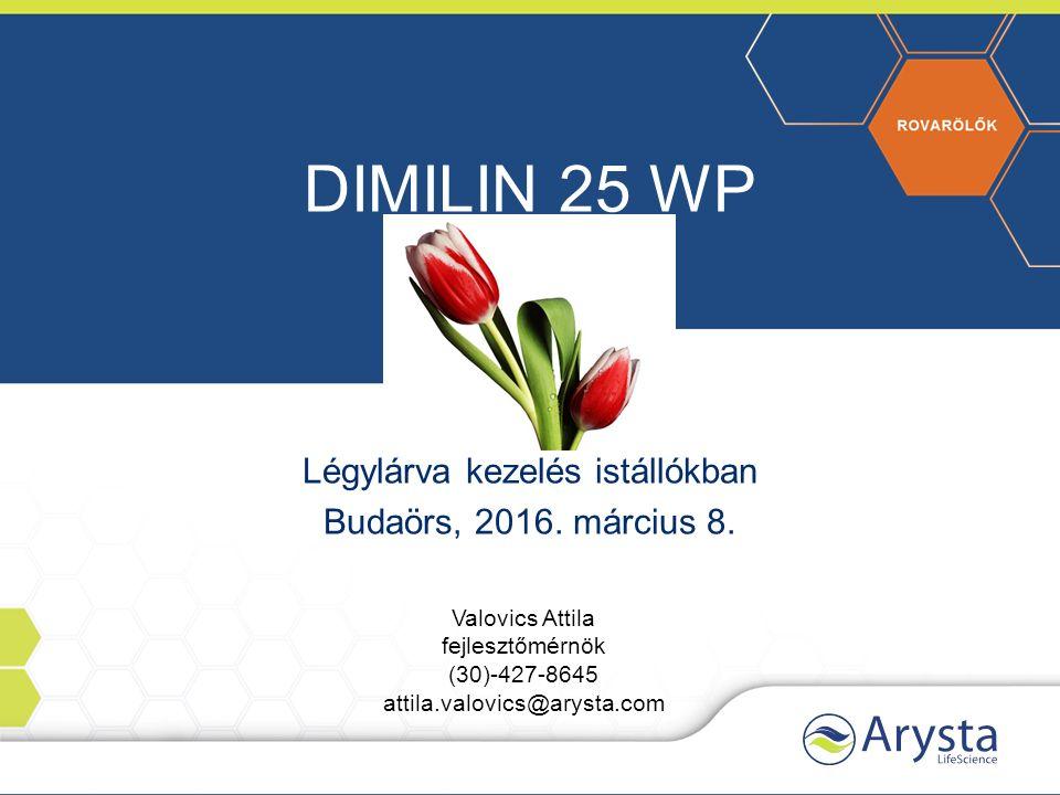 DIMILIN 25 WP Légylárva kezelés istállókban Budaörs, 2016.