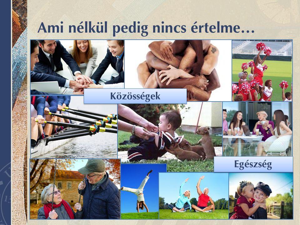 www.aok.pte.hu Ami nélkül pedig nincs értelme… Közösségek Egészség
