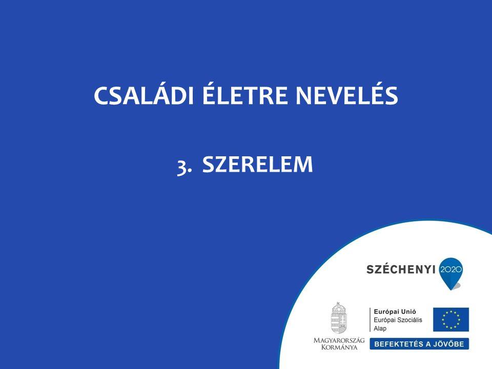 CSALÁDI ÉLETRE NEVELÉS 3. SZERELEM