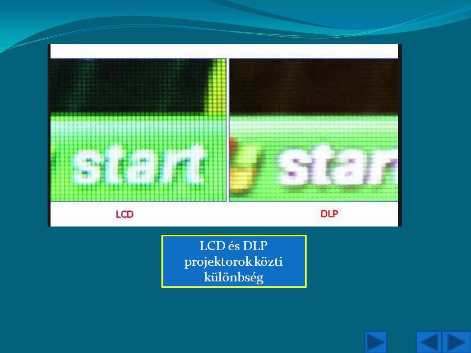 LCD és DLP projektorok közti különbség