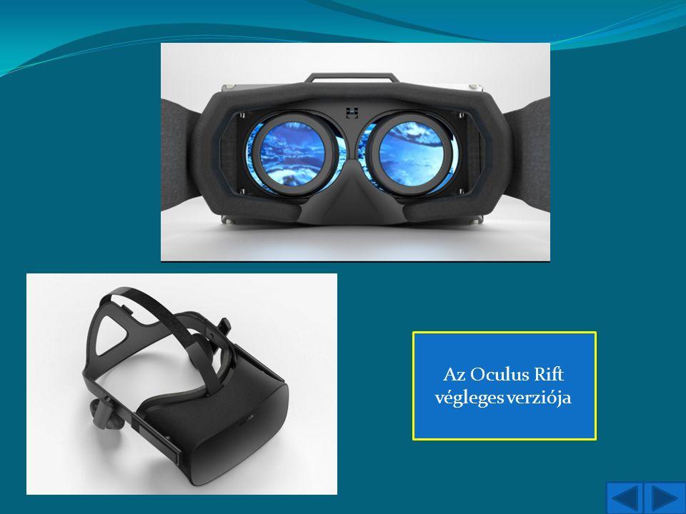 Az Oculus Rift végleges verziója