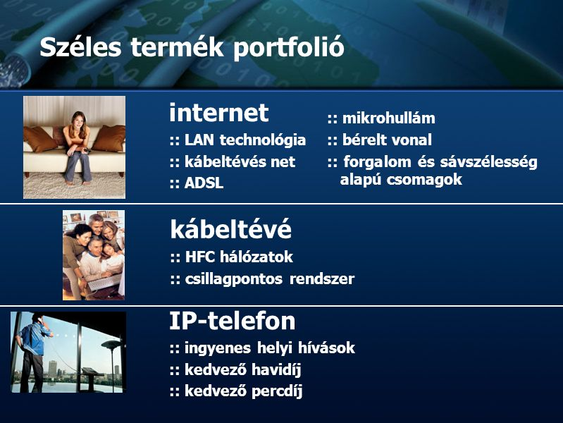 :: TvNetWork Rt. :: Tőzsdeképes Cégek Klubja :: :: :: Bemutatkozás :: :: :: Széles termék portfolió internet :: LAN technológia :: kábeltévés net :: A