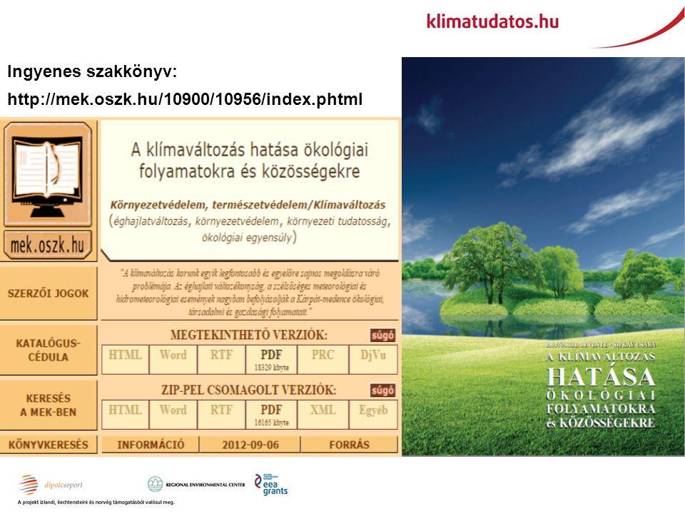 Ingyenes szakkönyv: http://mek.oszk.hu/10900/10956/index.phtml