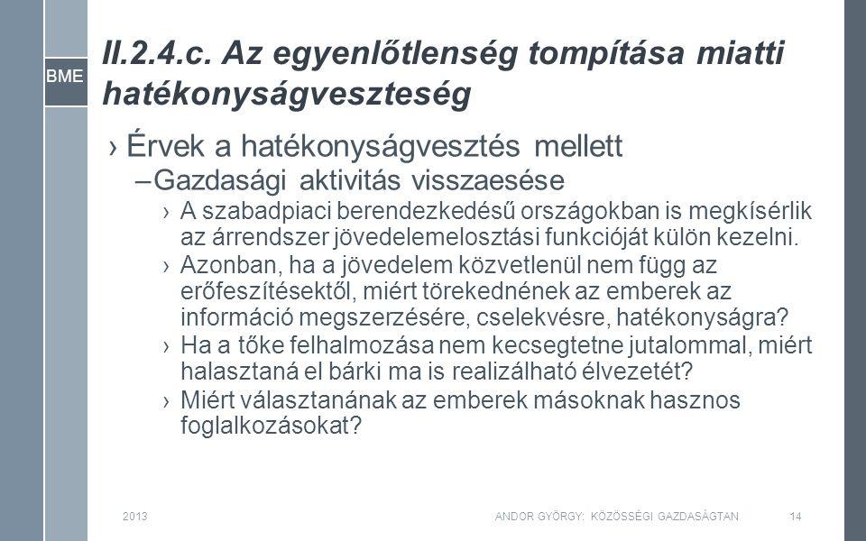 BME II.2.4.c.