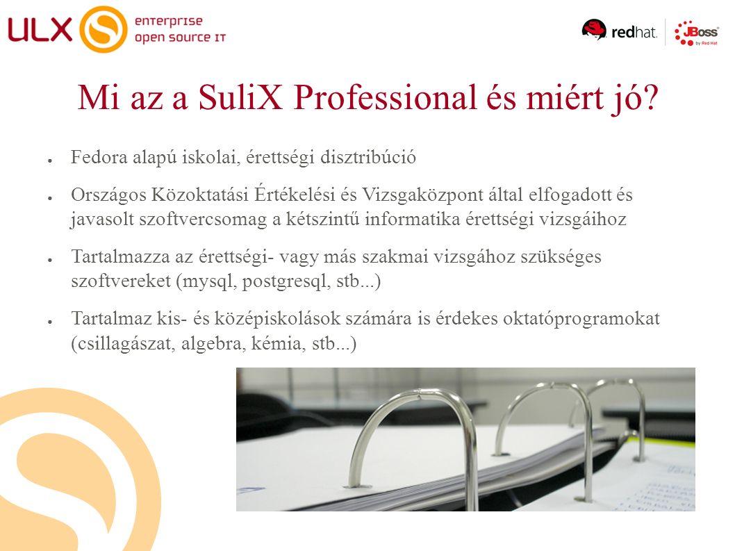 Mi az a SuliX Professional és miért jó.